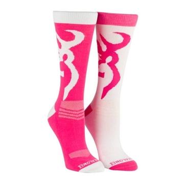 Browning Women's Crew Socks 2PK