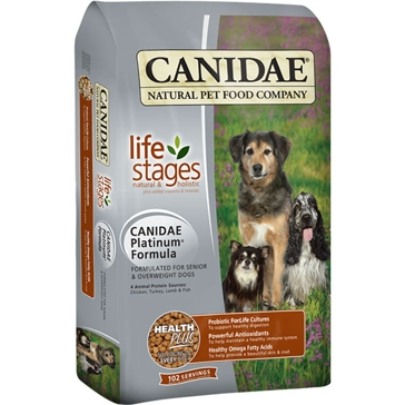 Canidae Senior/Overweight Life Stages Platinum Dry Dog Food