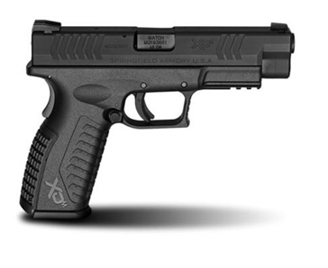 "Springfield Armory XD(M) .40SW 4.5"" Black Full Size Handgun"