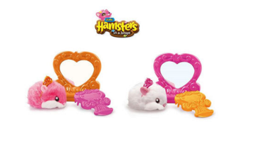 Zuru Hamsters in a House Styling Studio with Accessories