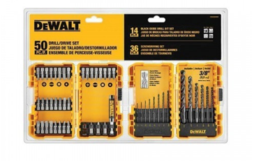 DeWalt Drilling & Screwdriving Bit Set 50pc.