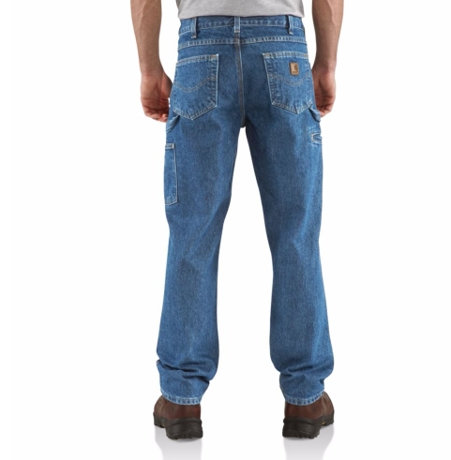 comprare on line 955f9 c452a Carhartt Relaxed Fit Carpenter Jean B171