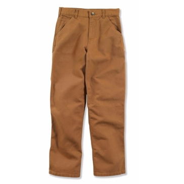 Carhartt Boys Youth Washed Duck Dungaree Pants