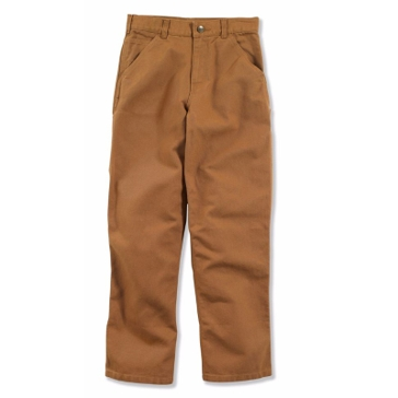 Carhartt Boys Washed Canvas Dungaree Pants