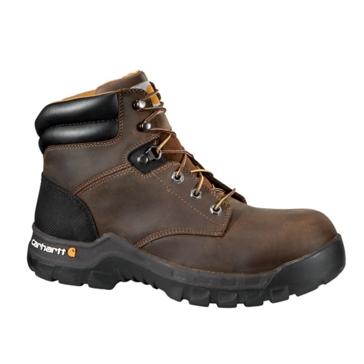 Carhartt Womens 6in Rugged Flex Work Boots Brown CWF5355