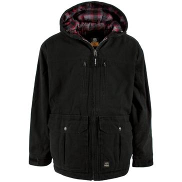 BLACK - Berne Mens Echo One Zero Conceal Carry Jacket CCWJ01