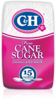 C&H Pure Cane Sugar Granulated White 10lb