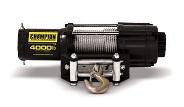 Champion 4000lb Winch Kit ATV/UTV/Trailer