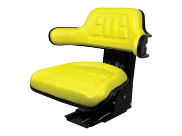 Concentric Intl Universal Tractor Seat with Adjustable Suspension Yellow