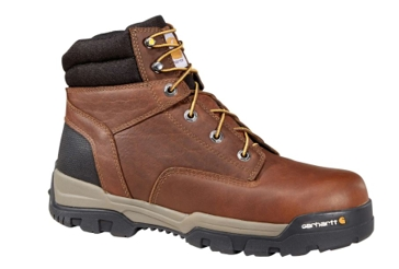 Carhartt Men's 6-inch Brown Work Boot