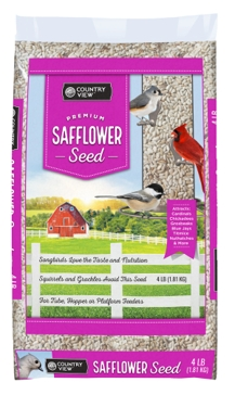 Country View Safflower Seed 4lb