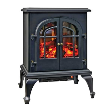 Comfort Zone Electric Fireplace Stove Heater