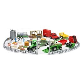 New Ray Toys Usa Country Life Deluxe Farm Playset
