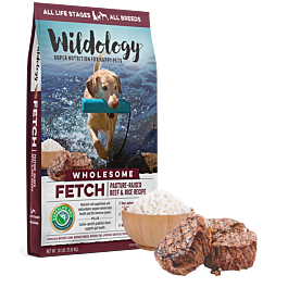 Wildology Fetch Beef Amp Rice Dog Food 30lb