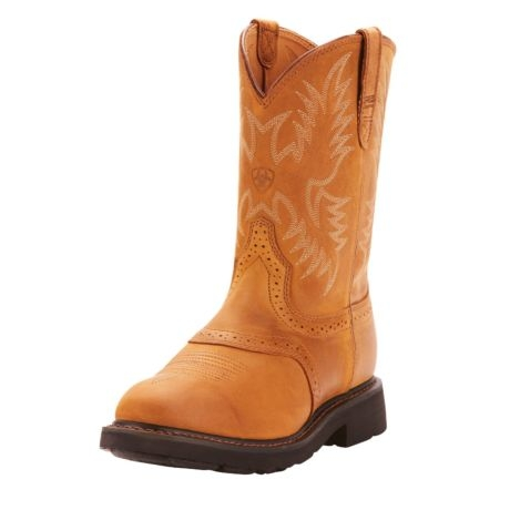 bf07902897d Ariat Mens Sierra Saddle Leather Work Boots