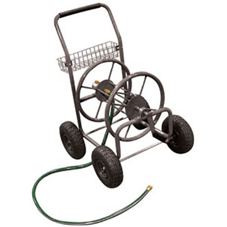 king tools garden hose reel cart 225ft - Garden Hose Reel Cart