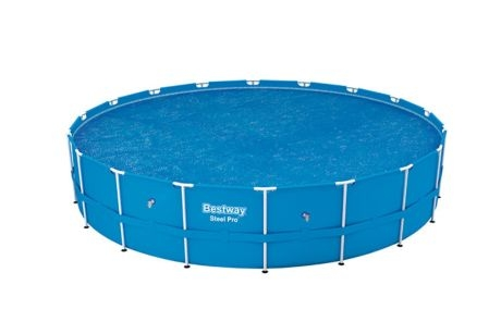 Bestway 18\' Solar Round Swimming Pool Cover 58173E