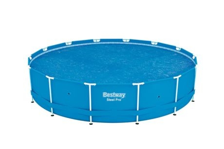 Bestway 15\' Solar Round Swimming Pool Cover 58252E