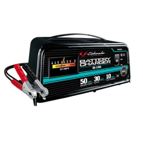 schumacher 10 30 50a 12v automatic battery charger w engine startschumacher  10 30 50a 12v automatic