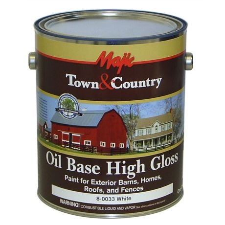 Oil Base High Gloss Exterior Paint 1 Gallon Also Available In Clic Red