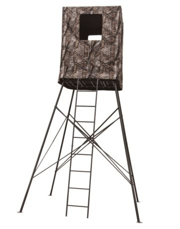 6be397f85bb Big Dog Quad Pod 14ft Guard Tower Deer Blind - Treestands   Blinds - Hunting    Shooting