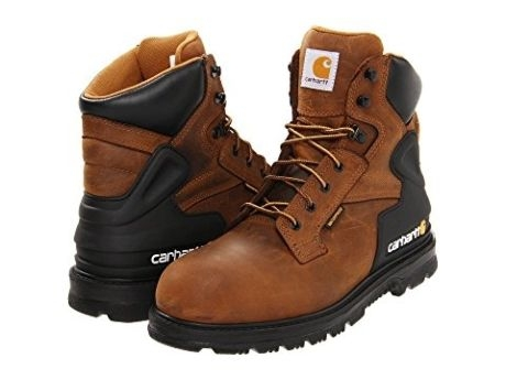 428e6c15d1f Carhartt 6in Men's Bison Waterproof Safety Toe Work Boots
