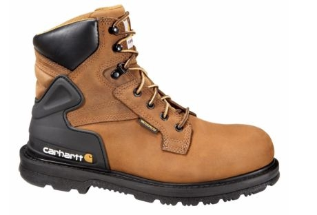 c46d4fc49f7 Carhartt 6in Men's Bison Waterproof Safety Toe Work Boots