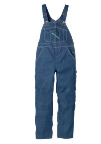 e6d6f992b913c Key High-Back Bib Overall with Zip Fly Style 273