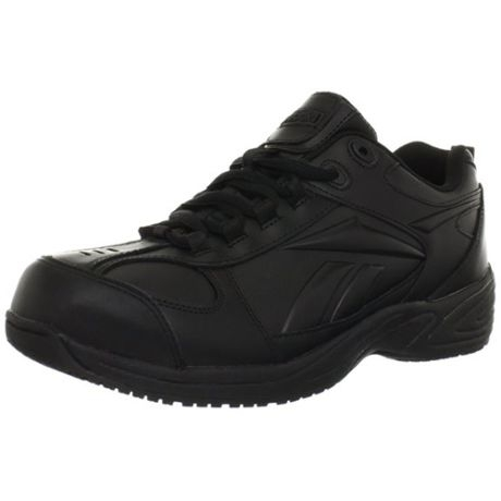 ac650c1fbc62 Reebok Mens Black Jorie Non Metallic Slip Resistant Work Shoes