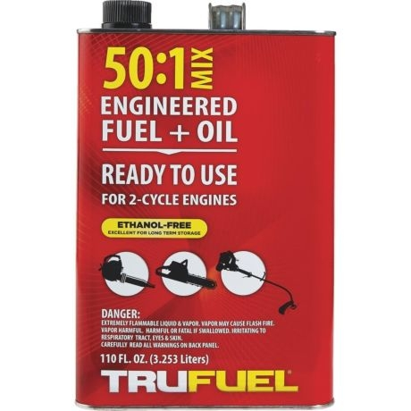 TRUFUEL 50:1 Two Cycle Small Engine Fuel 110oz