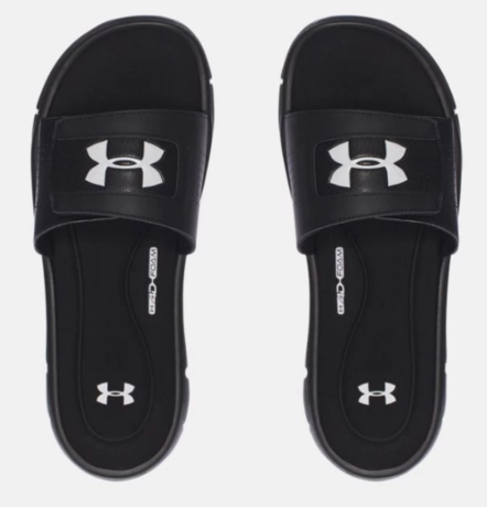 67fd187cf96 Home  Under Armour Men s Ignite V Slides. Black