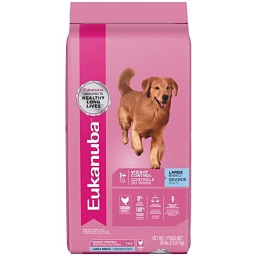 Eukanuba Adult Large Breed Weight Control Dry Dog Food 30lb