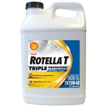 Shell Rotella-T 15W-40 T4 Triple Protection Motor Oil 1 Gallon
