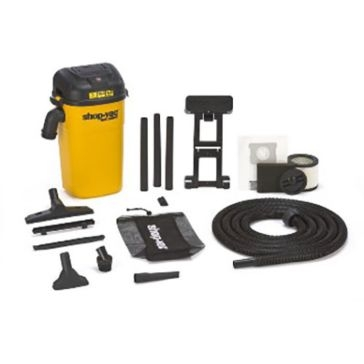 Shop‑Vac Wall‑Mount Wet/Dry Canister Vacuum