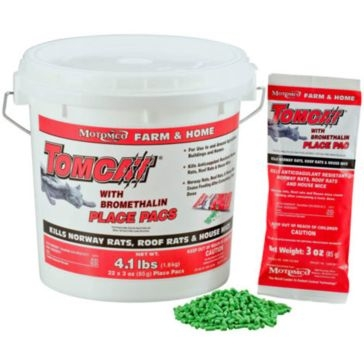 Tomcat Place Pacs Rat and Mouse Bait w/Bromethalin 4.1lb 22022
