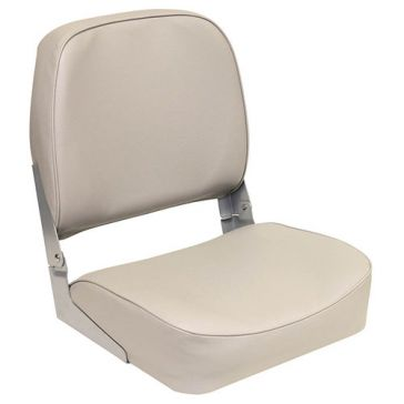 Wise Outdoors Grey Low Back Fold Down Boat Seat 3313-717