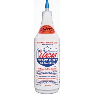 Lucas 1 qt. Heavy Duty Oil Stabilizer 10001