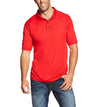 Ariat Sun Heat Tek Short Sleeve Polo