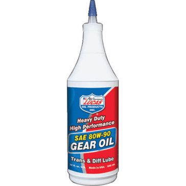 Lucas 32 Oz. Heavy Duty Gear Oil SAE 80W-90 10043