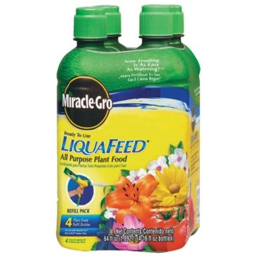 Miracle-Gro LiquaFeed Plant Food Refill Bottles 64oz