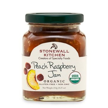 Stonewall Kitchen Organic Peach Raspberry Jam 100824