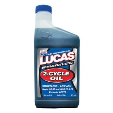 Lucas 1 qt. Semi Synthetic 2-Cycle Oil 10120