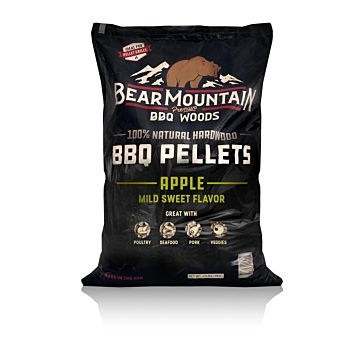 Bear Mountain Wood Grilling Pellets 20lb Apple