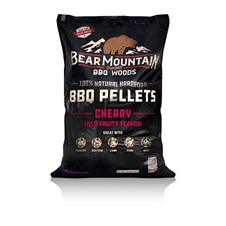 Bear Mountain Wood Grilling Pellets 20lb Cherry