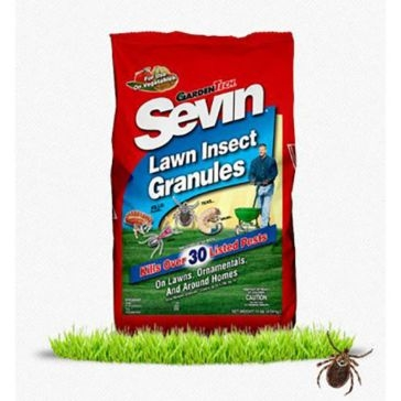 Sevin Lawn Insect Granules 20lb