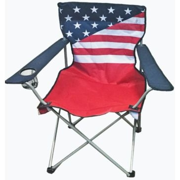 WFS Stars & Stripes Quad Chair