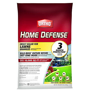 Home Defense Insect Killer for Lawns Granule-10 lb.