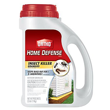 Ortho Home Defense MAX Insect Killer Granules, 2.5-Pound