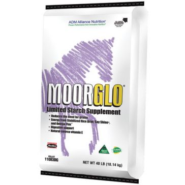 ADM MoorGlo Limited Starch Equine Supplement 50lb