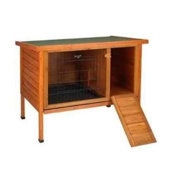 CritterWARE Premium Plus Medium Rabbit Hutch 36 X 24 X 34.5